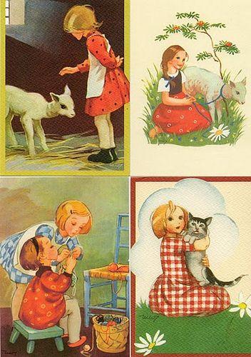 martta Wendelin cards#3 | by pstcrdldy