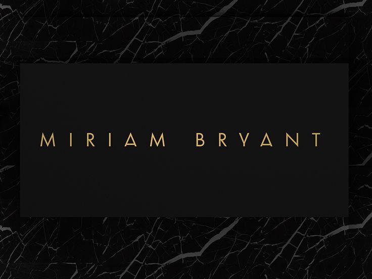 Miriam Bryant - Visual Identity