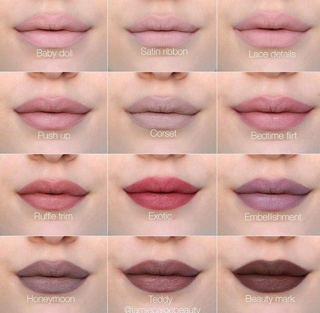 NYX lingerie liquid lipstick swatches @katiestubbs13 (beauty mark honeymoon)