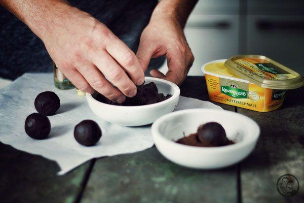 Irische Whiskykugeln - Foodblog Köln - Die Jungs kochen und backen