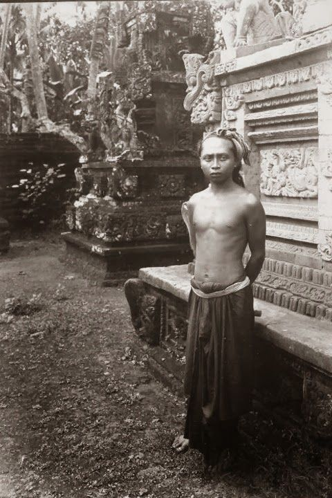 A Native Balinesse Man ~ Bali ~ Indonesia ~ 1920s