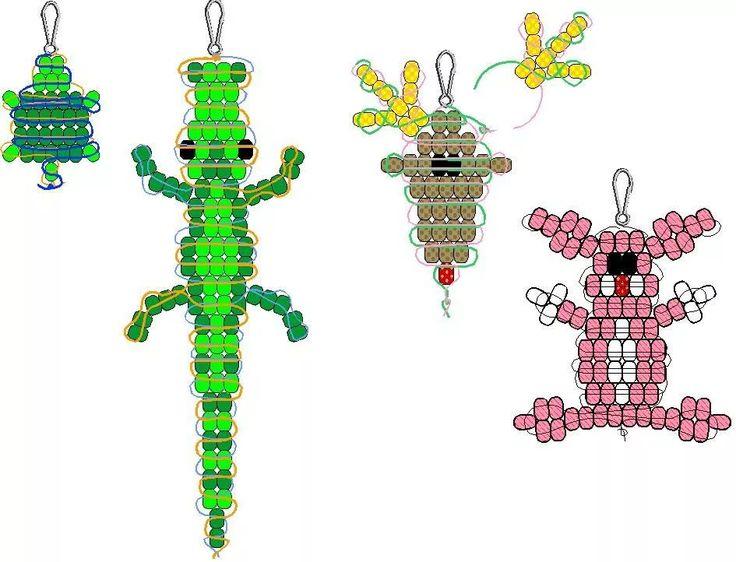 картинки плетение из бисера фигурки множество вопросом