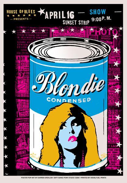 GigPosters.com - Blondie