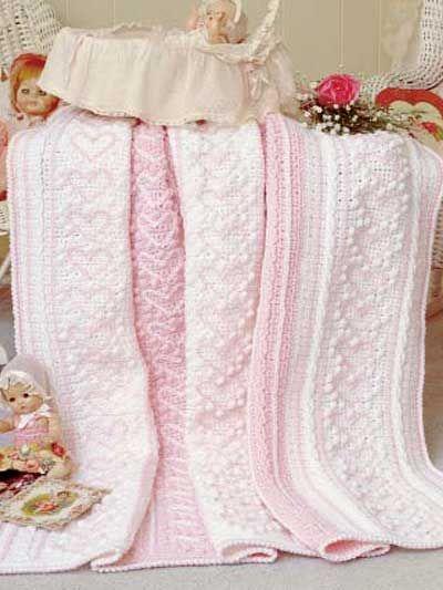 Heart Strings Afghan free crochet pattern
