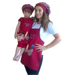 Anne Oğul Kişiye Özel Mutfak Önlüğü- Anne