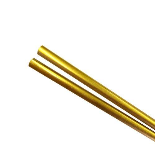 Our lacquered Gold Chopsticks are perfect for weddings, golden anniversaries or other events. Use them as a practical favor that your guests can keep to remember your event!