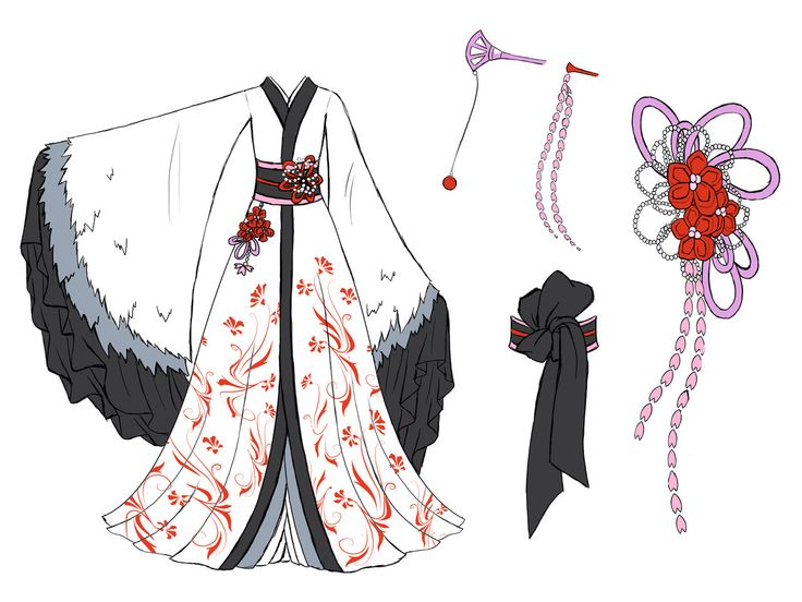 Crane dress design by Eranthe.deviantart.com on @deviantART Dream dress