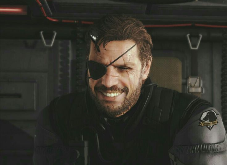 Big Boss Smile  // FaceApp  Metal Gear Solid