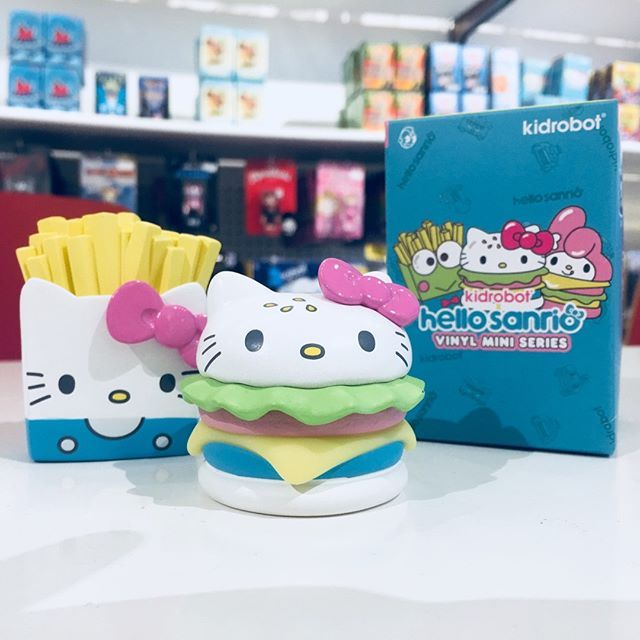a4d2e003a The Hello Kitty Burger and Hello Kitty Fries from the Hello Sanrio Vinyl Mini  Series from