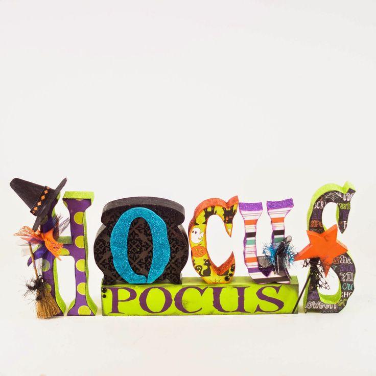 Hocus Pocus Word Set w/Vinyl