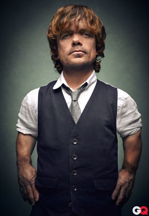 Peter Dinklage (aka Tyrion Lannister on Game of Thrones)