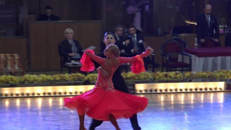 WDSF World Championship Junior II Ten Dance*MARIA SI COSMIN*Semifinal Tango