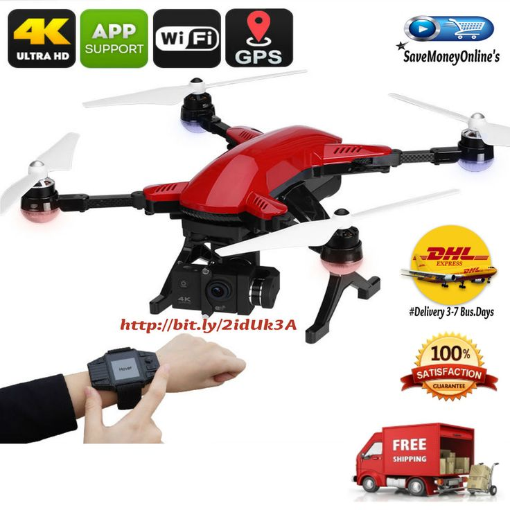 UAV Drone Folded Dragonfly Pro Follow Me GPS 4K 16MP Camera RC Watch Controller | Cameras & Photo, Camera Drones | eBay!