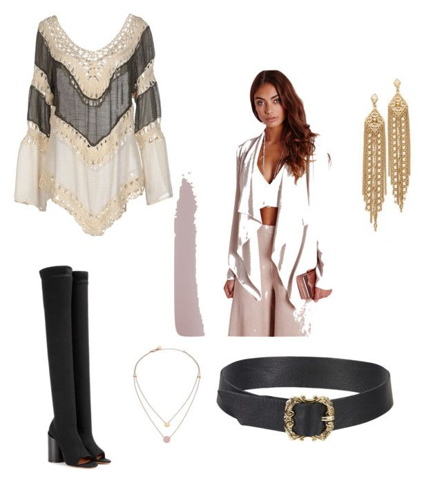 """""""Oceans"""" by aleksaaryal on Polyvore featuring Missguided, Givenchy, Care Of You, Capwell + Co and Michael Kors"""