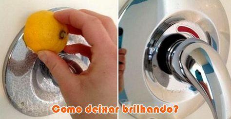 Sal + laranja tiram oxidação e ferrugem de metais #dicas #limpeza #comofazer #truques