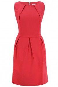 Heine sukienka malinowa z zakładkami http://n-fashion.pl/sukienki/heine-sukienka-malinowa-z-zakladkami