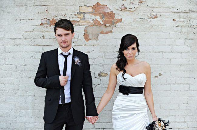Real Wedding: Brittanie + Zachs Music Inspired Wedding
