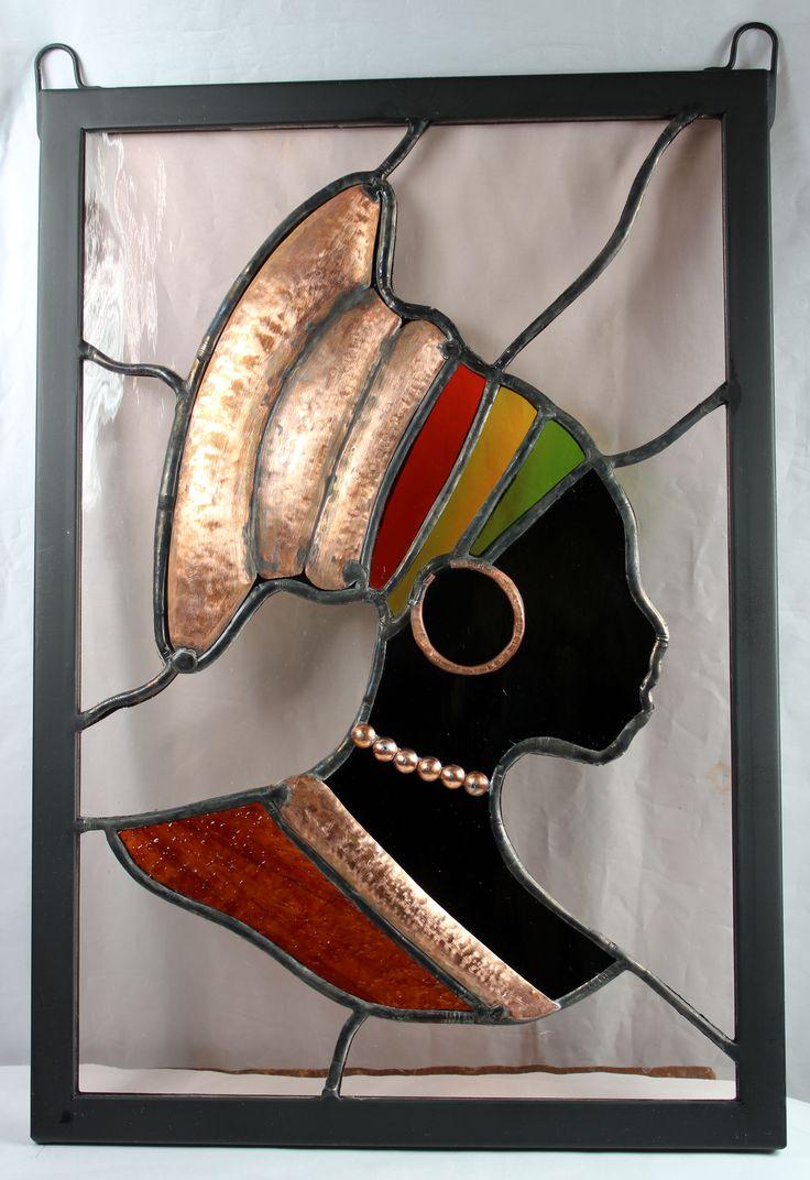 African Quinn Stain Glass.