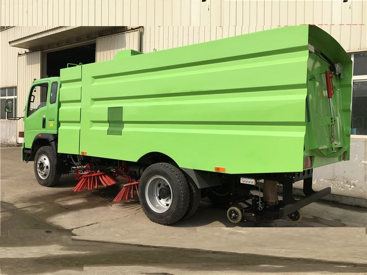 ISUZU FVZ 4x2 5600mm wheelbase multifunctional sweeping truck-road sweeper truck