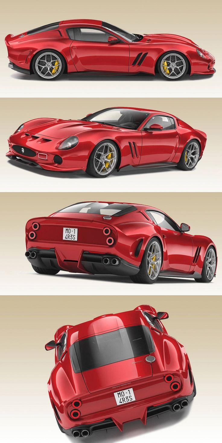 Ferrari 250 GTO Redesign von Ares Design #ferrarivintagecars
