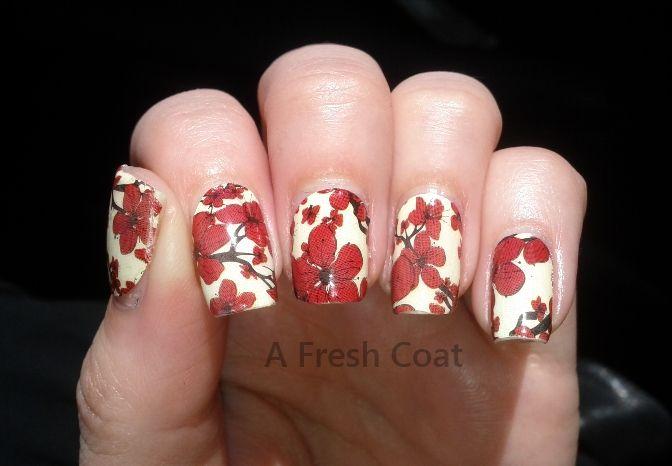 China Glaze – Real Nail Polish Appliques: Cherry Blossoms