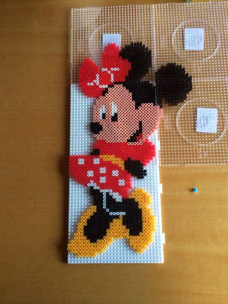 Minnie Mouse Perler Beads Perler Bead Art Hama Beads