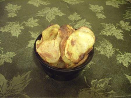 Cajun Baked Potato Chips
