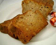 Moist and delicious banana bread recipe is easy to make and delicious toasted with a dab of butter.
