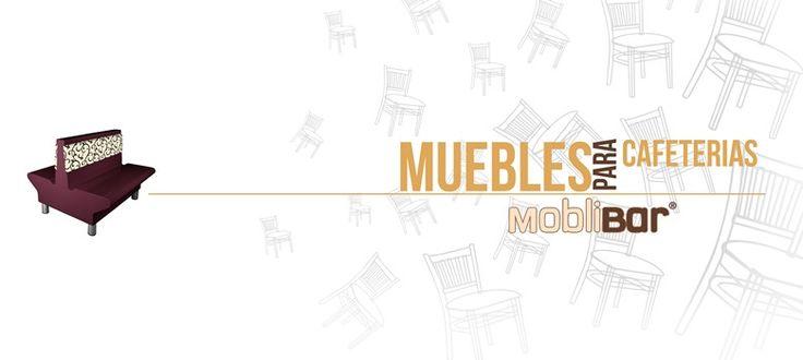 muebles para cafeterias mobiliario