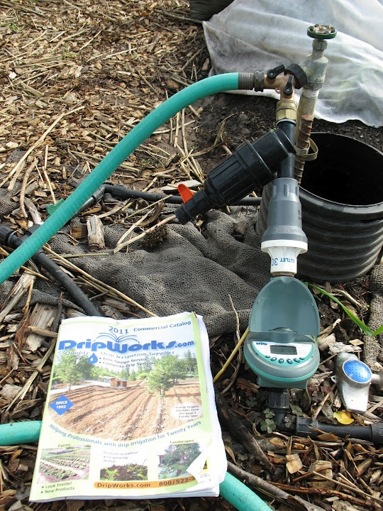 how to set up a holman irrigation system