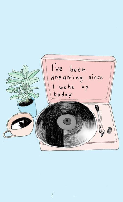 Imagen de Dream, aesthic, and music