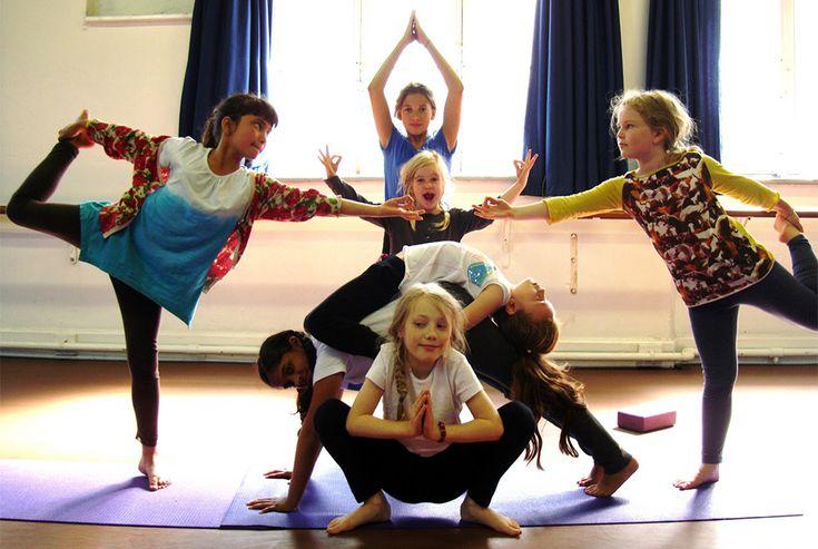 Yoga in classe