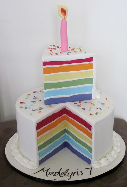 Images Of Cake For Niece : 97 best images about CAKES ARCOIRIS on Pinterest Best ...