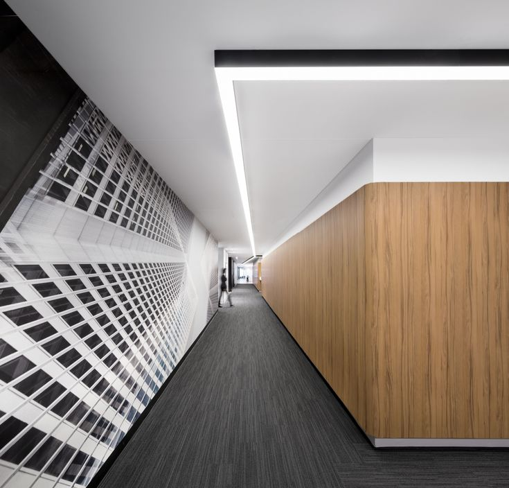 Interior Design Office Montreal: Corridor Office Interior Design By Inside Studio Location