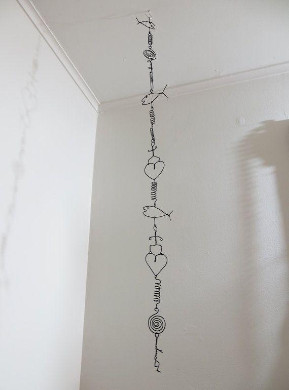Wire Art Garland