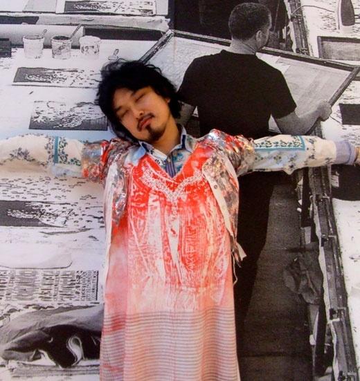 Hitomi Iketani and Spacecraft