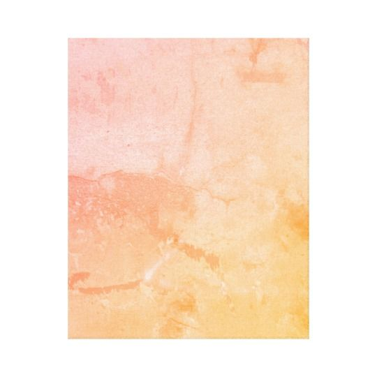 Modern Abstract Pastel Pink Peach And Yellow Canvas Print Zazzle Com Art Decor Design Peach Pink Ye Pink Canvas Art Yellow Painting Canvas Art Prints