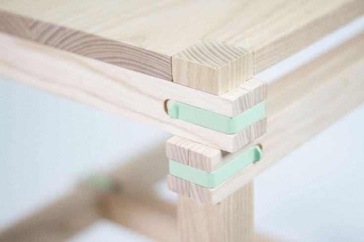 Ecodesign / Design durable / Nomadic - la chaise voyageuse en bois par le designer espagnol Jorge Penadés / Yooko