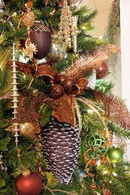 Close up ornaments from Xmas tree designed by Sweet Somethings Designs -- gorgeous