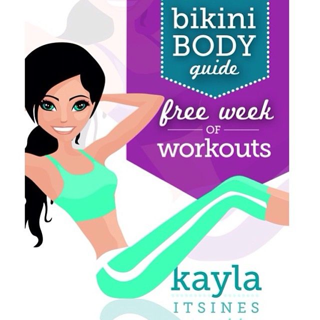 """This book is a SAMPLE of my 102 page 12 week bikini body guide. It gives you a LEGS, ARMS AND AB WORKOUT!! All you have to do is click """"pay with a tweet"""" and you can get it for free!! ✅ All this does, is allow you to download the book for free and let's your friends know about it too! (by making a once off FB or twitter post about it). You can download my free ebook from www.kaylaitsines.com.au <3 #kaylaitsines #workout #gym"""