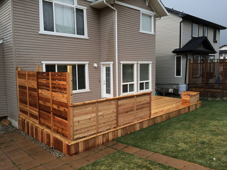 53 best images about decks calgary by deckrative designs for Custom deck ideas