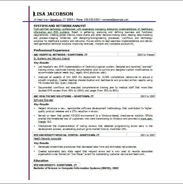 example of a good resume \u2013 districte15info