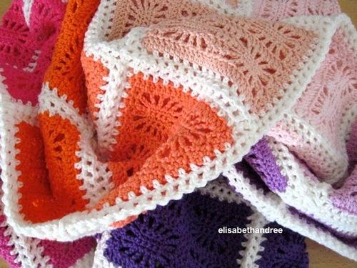 spider blanket - about crochet