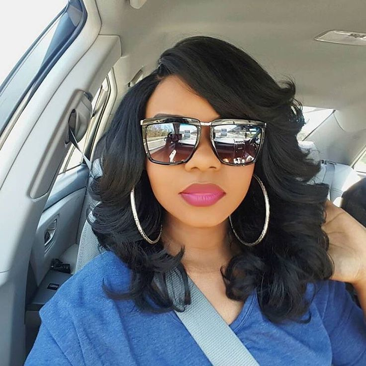 Big Beachy Waves || IG: @mamawithstyle! || Outre Lacefront Perm Yaki Wig