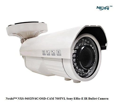 NexhiTM NXS-9602IV6C/OSD-CAM 700TVL Sony Effio-E IR Bullet Camera with 2.8-12MM VF Lens 42 IR Leds and OSD https://wirelesssecuritycamerasusa.info/nexhitm-nxs-9602iv6cosd-cam-700tvl-sony-effio-e-ir-bullet-camera-with-2-8-12mm-vf-lens-42-ir-leds-and-osd/