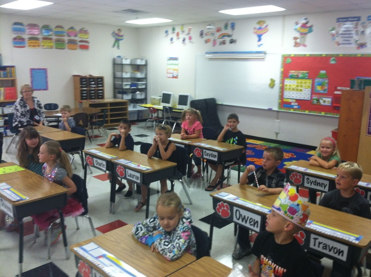 Elementary Classroom Pictures : Best images about pictures from the first day at