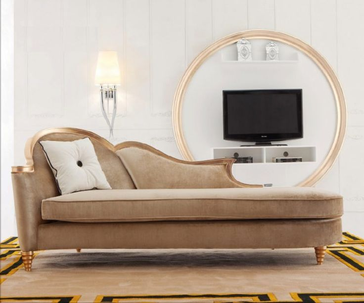 awesome modern chaise sofa with cushions