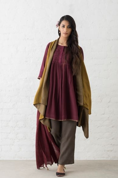 Goodearth - Anjum:Anika Cotton Dress