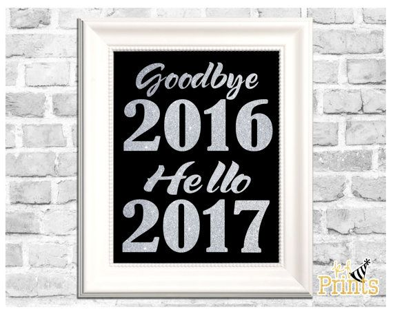 Bid farewell to 2015 and welcome in 2016 with this fun, glittery silver New Years Eve print! This Goodbye 2015, Hello 2016 print would be a great holiday decoration and would bring a splash of New Year excitement to any New Years Eve party decor! -Technical Details- This product comes as a .jpeg file. It is sized at 8x10. -About Your Order- All of KFPrints products are digital prints for you to print on your own home printer or at a print shop near you. You will receive a link to your very…
