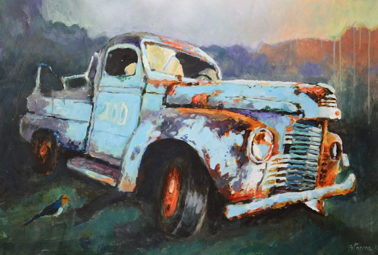 Rusty car Witold Pazera